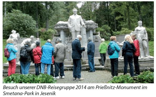 Priessnitz-Monument Jesenik